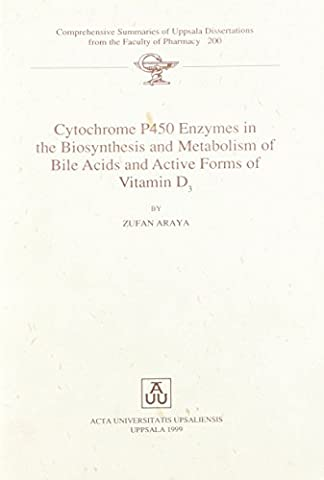 Cytochrome P450 Enzymes in the Biosynthesis and Metabolism of Bile Acids and Active Forms of Vitamin D3