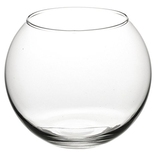 Fischglas, runde Vase, sortiert, Large