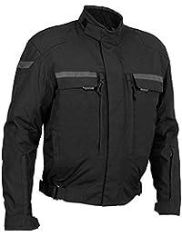 Newfacelook Pour des Hommes Protecteur Motorcycle étanche Armure Court Veste M
