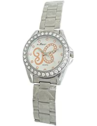 Forest Analog White Dial Women's Watch - Forest003