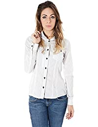 ZU ELEMENTS Z13014325495OH Isaac Camisa con Las Mangas largas Mujer