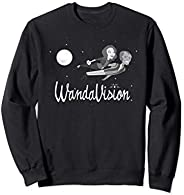 Marvel WandaVision Wanda and Vision 60s Moonlight Flight Sweatshirt