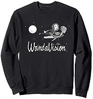 Marvel WandaVision Wanda and Vision 60s Moonlight Flight Sweatshirt