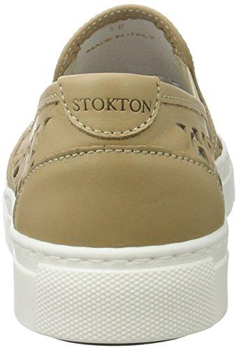 Stokton 541-d, Scarpe da Ginnastica Basse Donna Beige