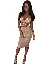 Anzüge & Sets Frauen Bodycon Casual Clubwear Party Kleidung Set Sexy Crop Top Verband Taste Rock Set Damen Anzug 2 Stück Set Sommer Kleidung