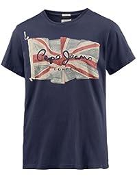 Pepe Jeans Pm501854 - T-shirt - Uni - Manches courtes - Homme