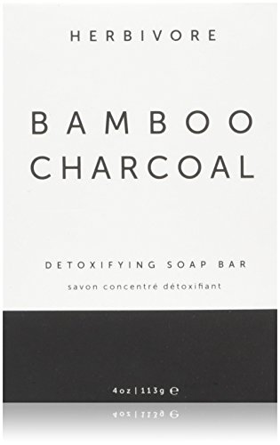 Herbivore Botanicals - All Natural Bamboo Charcoal Face/Body Cleansing Soap Bar -