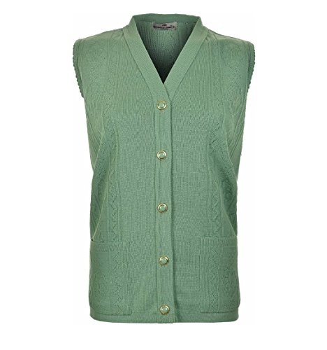 Loire Couture -  Cardigan  - Donna Dusty Green