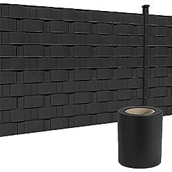 HENGMEI Clôture de protection en PVC avec clips de fixation pour jardin et balcon 35m