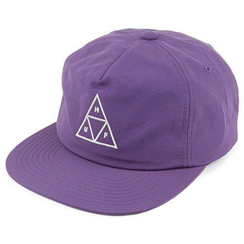 HUF Casquette Snapback en Nylon Triple Triangle Violet