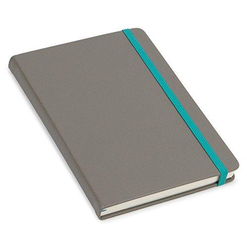 agenzio Medium Granit Notizbuch, liniert