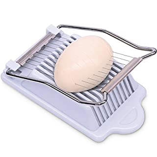 Anwenk Egg Slicer, Stainless Steel Cutting Wires, Multi Purpose Slicer