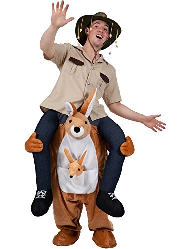 CUTE KANGAROO CARRY ME MASCOT FANCY DRESS (Fancy Cute Dress Kostüme Ideen)