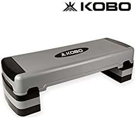 Kobo AS-3 Plastic Aerobic Step Board (Grey)