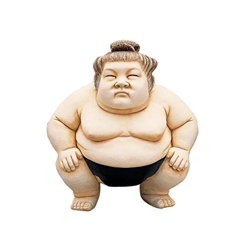 Design Toscano Basho, der Sumo-Ringer, Figur: Groß (Ringer Große)