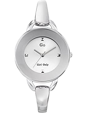 Go Girl Only–694560Damen-Armbanduhr 045J699Analog silber Armband Metall silber
