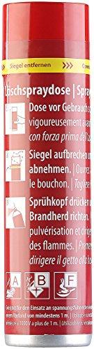 PEARL Feuerlöschspray: Feuerlösch-Spray für Küche & Haushalt, 600 ml, 5A 21B 5F, wartungsfrei (Löschspray)