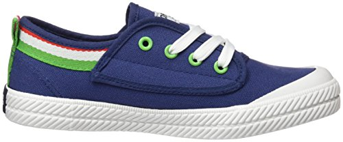 D. Franklin Hvk18901, Sneakers Basses Mixte Adulte Bleu (Blue)