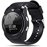 Sony V8 Smart Watch With Camera || Smart Watch With Memory Card|| Smart Watch With Sim Card Support ||fitness Tracker|| Bluetooth Smart Watch||Wrist Watch Phone|| Smart Watch With Facebook. Whatsapp|| 4G Smart Watch||Any Color ||Best In Quality|| Compatib