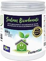 NortemBio Bicarbonate de Soude 800g, Intrant de la Production Biologique, sans Aluminium, Qualité Supérieure, 100%...
