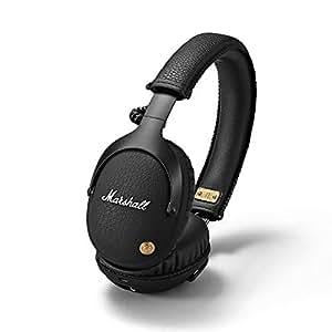 Marshall Monitor Bluetooth Over-Ear Kopfhörer (F.T.F. Filter System, 30 h Spielzeit, Bluetooth 4.0, faltbares Design) schwarz
