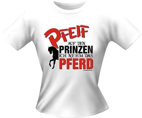 Lady-Shirt: Pfeif auf den Prinzen XL