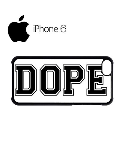 Dope Please Cool Baseball Swag Mobile Phone Case Back Cover Hülle Weiß Schwarz for iPhone 6 White Weiß