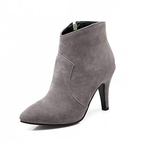 BalaMasa Bande Élastique pour Femme Cadran Or Nœud Papillon Peau de Mouton Rubans Pumps-Shoes Noir, 34 EU, APL04355CA