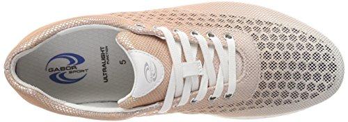 Shoes Rame Multicolore weiss Gabor Femme Gabor Derbys Sport Kombi TZwYBqd