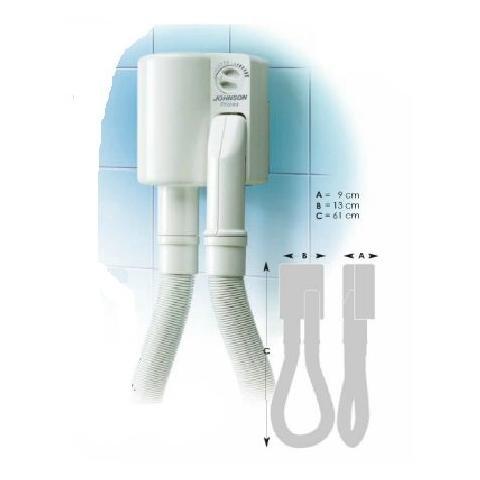 JOHNSON SUITE Phon da Parete Potenza 800 Watt Colore Bianco
