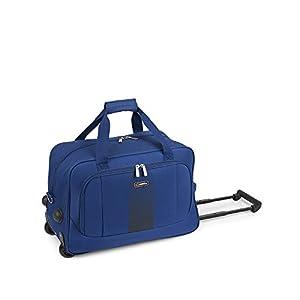 GABOL Bolso de Ruedas S Roll. Bolsa de Viaje, 50 cm, 15 litros, Azul