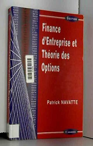 Finance d'entreprise et théorie des options