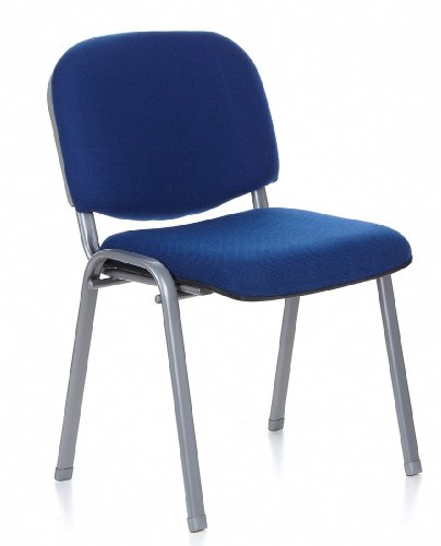 hjh OFFICE 704110 Konferenzstuhl XT 600 blau/silber