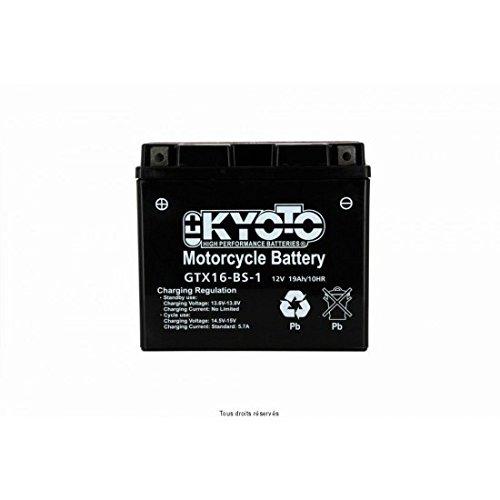KYOTO - BATTERIA Ytx16-bs-1 - L150xl87xH161 - Senza Manutenzione - Fornita con acido
