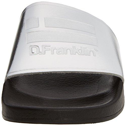 D. Franklin Fvk17502, Ouvrez Toe Femme Argent (Plata)