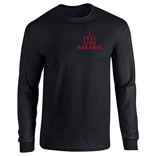 Pop Threads Herren T-Shirt Gr. XX-Large, Schwarz