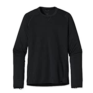 Patagonia Capilene® 2 Lightweight Crew Maillot de corps manches longues Homme Noir FR : XS (Taille Fabricant : XS)
