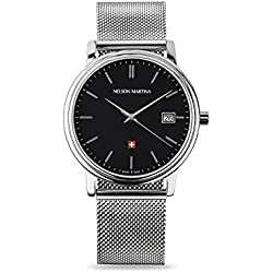 Men's Watch Nelson Martina Classic Silver 311