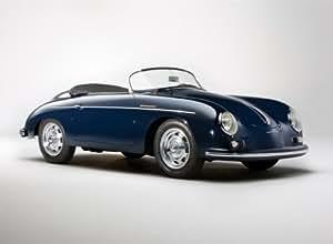1958 Porsche 356A 1600 Speedster Reproduction d'affiche de photo 40x30 cm