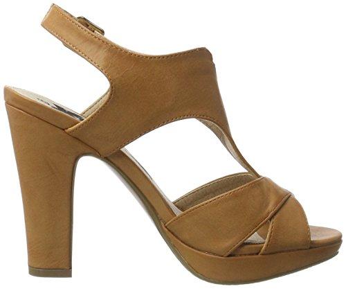 XTI Damen Camel Pu Ladies Sandals Pumps Beige (Camel)
