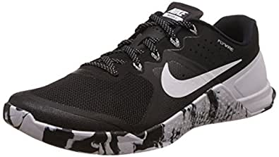 Nike Mens Metcon 2 Synthetic Black/White Trainers - 8. 5 D(M) US