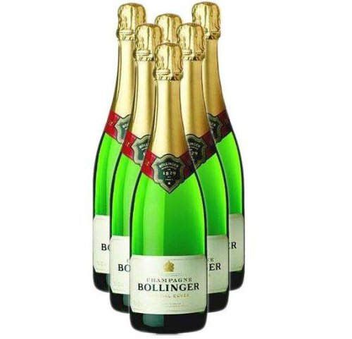 Bollinger Special Cuvee Champagne NV 75 cl (Case of 6)