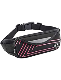 Waterproof Large Capacity Multifunction Waist Pack Bag Fitness Sports Belt Bag Cell Phone Pouch For Running Riding... - B07H3RZNZ9