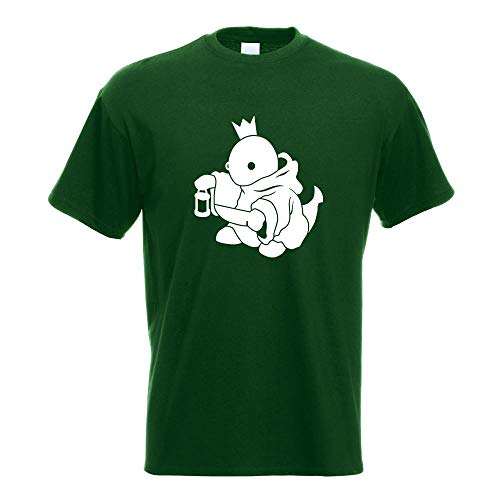 Boss Fight King König T-Shirt Motiv Bedruckt Funshirt Design Print