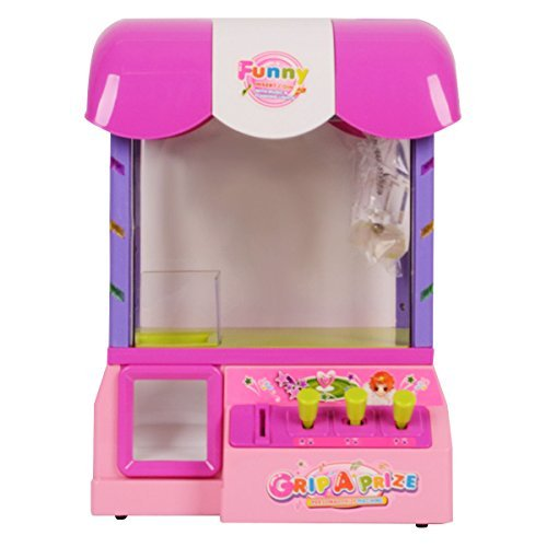 Costzon Electronic Candy Machine Grabber Prize Kids Crane Arcade Game With light & Music by (Giocattolo Candy Machine)