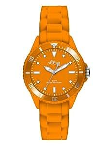 s.Oliver Damen-Armbanduhr XS Analog Quarz Silikon SO-2748-PQ