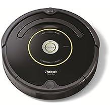 iRobot Roomba 650 - Robot aspirador, potente sistema de limpieza con sensores de suciedad Dirt Detect, aspira alfombras y suelos duros, atrapa el pelo de mascotas, programable, color negro