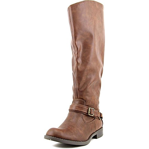 Easy Street Plus Wide Calf Synthétique Botte brown