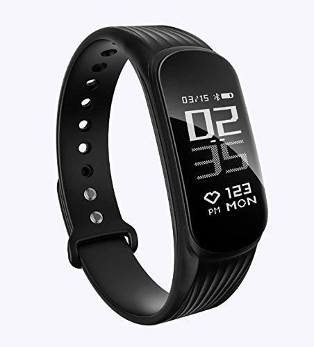 UWATCH Fitness Muñequera Monitor Ritmo cardíaco