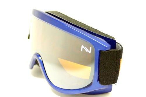 NAVIGATOR - Occhiali da sole da sci/snowboard DELTA, adatto a caschetti da sci, lenti doppie, UV400